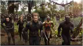 The Avengers Infinity War