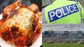Turkeys: They were worth hundreds of pounds. Aberdeen Makro