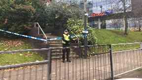 Assault: Path has been cordoned off. Renfield Street Cowcaddens Road Glasgow