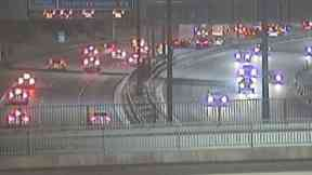 M8: Road was closed for several hours. Glasgow Fort