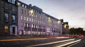 Rendering of what the Yotel branch in Edinburgh at Erskine House will look like.