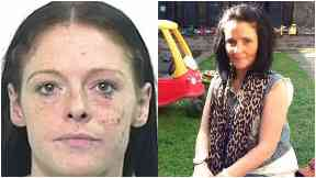 Siobhan Russell (l), killed Marie Low (r)
