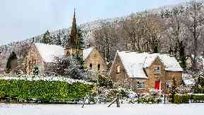 Snowy Tarbet by Brian Johnstone for Scotland from the roadside
