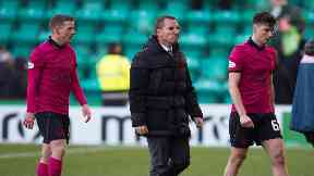 Brendan Rodgers after 2-2 draw with Hibs