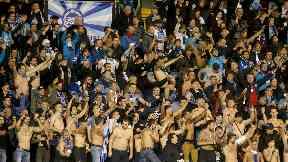 Zenit St Petersburg fans