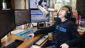 Lennon Knight, age 10, radio presenter for East Coast FM