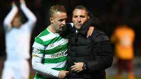 Leigh Griffiths and Brendan Rodgers, Nov 2017