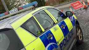 A72: Driver was cut free.