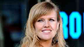 Ashley Jensen, arrives for the premiere of Gnomeo and Juliet, an animated film produced by Sir Elton John and David Furnish, at the Odeon Leicester Square, London.