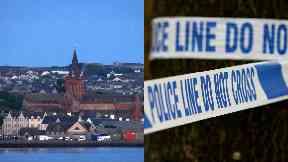 Kirkwall: Man also taken to hospital. Orkney