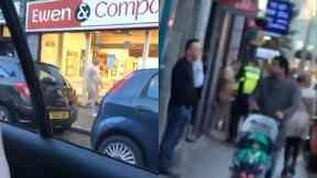 Aberdeen: Passers-by left in shock. Aberdeen George Street
