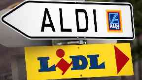 A million more households shopped at the German discounters in the last three months of 2017.