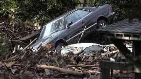 Mudslides have hit California.