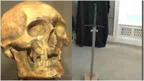 Robert the Bruce Skull and Sword