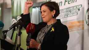 Mary Lou McDonald: Sole candidate. Sinn Fein