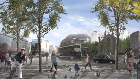 Picardy Place: New proposals 'more pedestrian and cycling-friendly'.