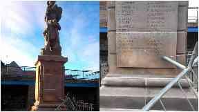 War memorial prestonpans