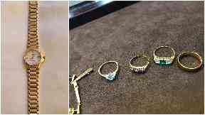Watch and rings stolen from Edinburgh house, January 2018.