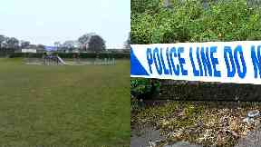 Orchar Park: Forensic officers called. Broughty Ferry Dundee