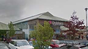 Break-in: Thieves targeted Dobbies Garden Centre.