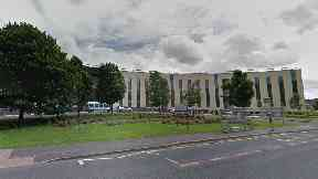 New Victoria Infirmary in Glasgow.