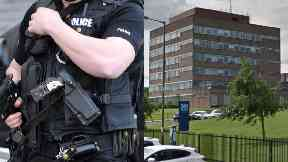 Gun: Officer told to do training. Fettes Police Station