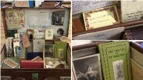 Oxfam bookshop appeal 'the things we've found in books'