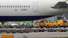A man has died in the incident at Heathrow Airport