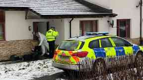 South Road: Forensic officers called. Dundee Severed Hand