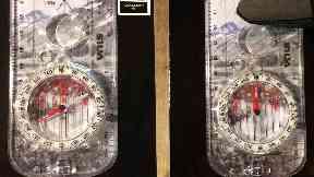 Mountaineering Scotland image of compasses