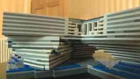 V&A Museum Lego Model
