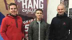 hanging contest