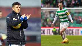 Josh Windass and Callum McGregor
