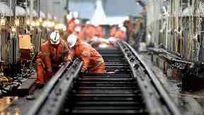 Network Rail carrying out work ahead of Easter weekend 2018.
