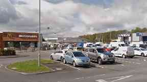 Robroyston: He owed money to people. Robroyston Retail Park