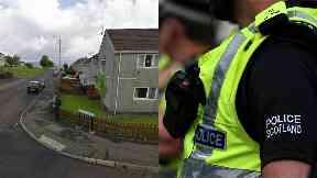 Port Glasgow: Gang fled in car. Auchenbothie Road