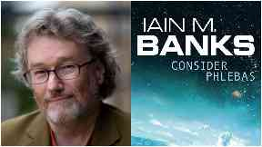 Iain Banks, author of Consider Phlebas and other Culture novels.