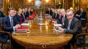 cabinet meeting at chequers