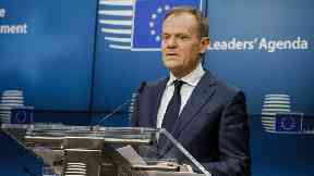 Mr Tusk said it still sounded like the UK was trying to have its cake and eat it
