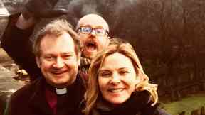 Kim Cattral: Brother died unexpectedly. St Cuthbert's Church