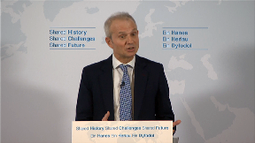 Cabinet Office minister David Lidington makes Brexit speech.