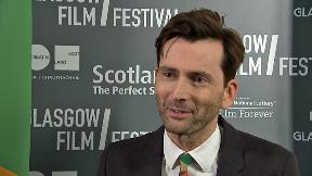 David Tennant at Glasgow Film Festivalm February 25 2018.