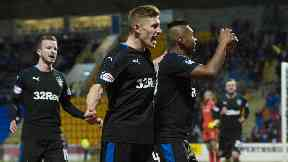 Win: Rangers scored four at McDiarmid Park.