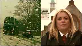 Charmaine Laurie, bus driver who swerved to avoid car turning in her path.