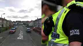Kilmarnock: Robber escaped with a two-figure sum. Raithburn Avenue