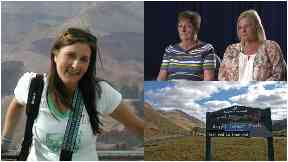 Suzanne Pilley composite, also showing Gail and Sylvia and Rest and Be Thankful.