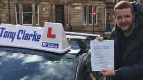 Kevin Bridges: He was previously taking Ubers. Driving test