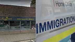 Rajpoot: The men face deportation. Inverurie Aberdeenshire