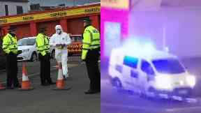 Greenock: Forensic officers called. Dalrymple Street