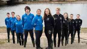 Aberdeen Boat Race Senior teams March 2018